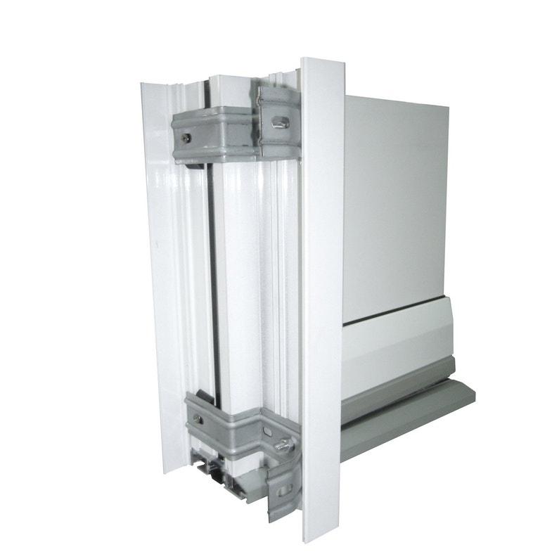 Tapée Disolation Pour Porte Dentrée H215 X L90 Cm Aluminium Essentiel