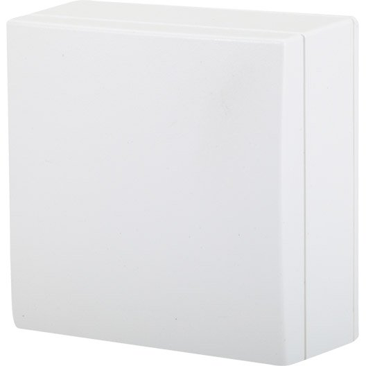 bo te de d rivation saillie bel 39 vue blanc leroy merlin. Black Bedroom Furniture Sets. Home Design Ideas