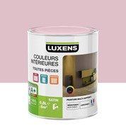 Peinture rose shocking 6 LUXENS Couleurs intérieures satin 0.5 l