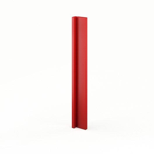 Idee Deco Chambre Bebe Hello Kitty : Finition dangle de cuisine rouge ABAng Délice, L15 X H70 cm