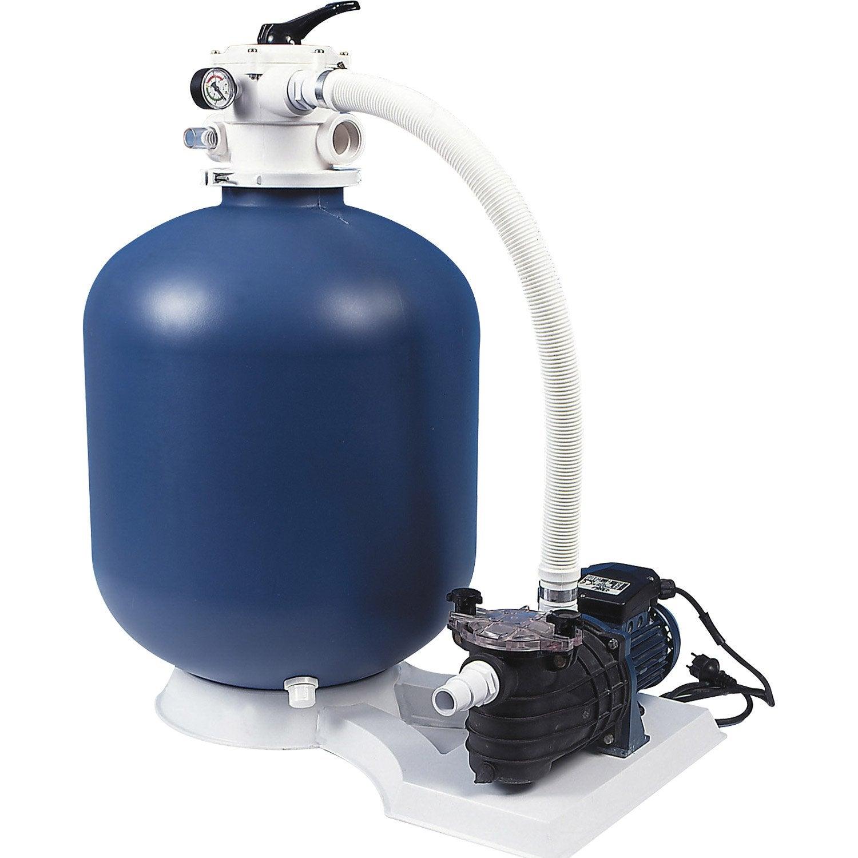 kit de filtration sable aqualux 103461 10 m h leroy. Black Bedroom Furniture Sets. Home Design Ideas