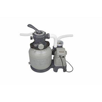 Kit de filtration à sable INTEX 6 m3/h 6 m³/h