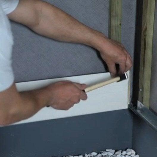 Comment poser du bardage leroy merlin for Cours bricolage leroy merlin
