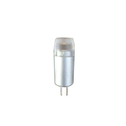 Ampoule bulbe led 5w 150lm quiv 20w g4 3000k 300 lexman leroy merlin - Ampoule g4 20w ...