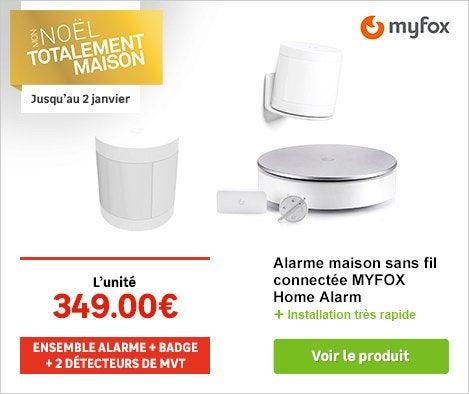 Alarme maison cam ra de surveillance et d tecteur de for Alarme maison myfox