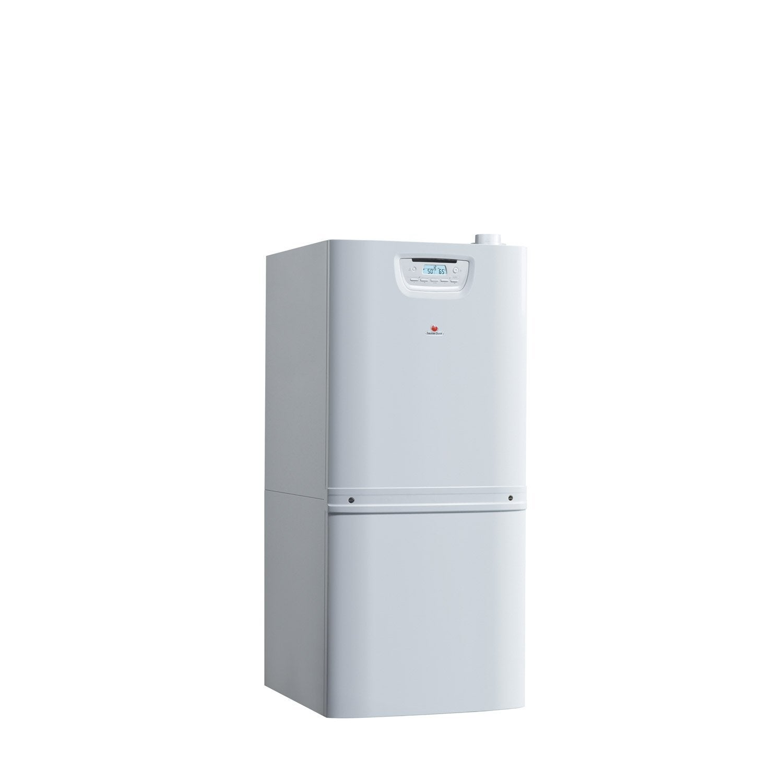 chaudi re gaz condensation accumul e saunier duval duomax f30 90 leroy merlin. Black Bedroom Furniture Sets. Home Design Ideas