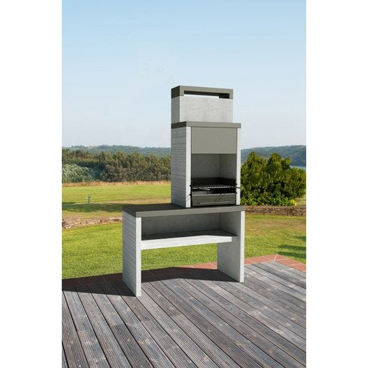 barbecue fixe barbecue fixe et cuisine d 39 ext rieur leroy merlin. Black Bedroom Furniture Sets. Home Design Ideas
