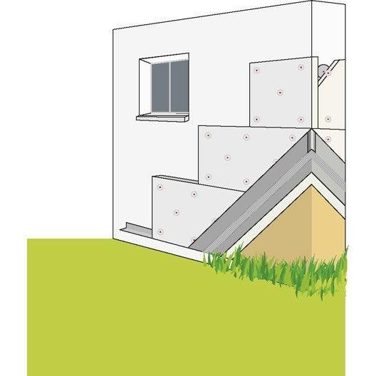 polystyr ne expans pour iso thermique par l 39 ext prb leroy merlin. Black Bedroom Furniture Sets. Home Design Ideas
