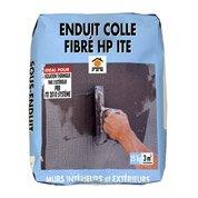 Enduit colle fibré pour iso. thermique par l'ext., haute performance, PRB, 25kg