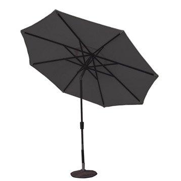 Parasol droit helios naterial gris dor 7 m - Leroy merlin pied parasol ...