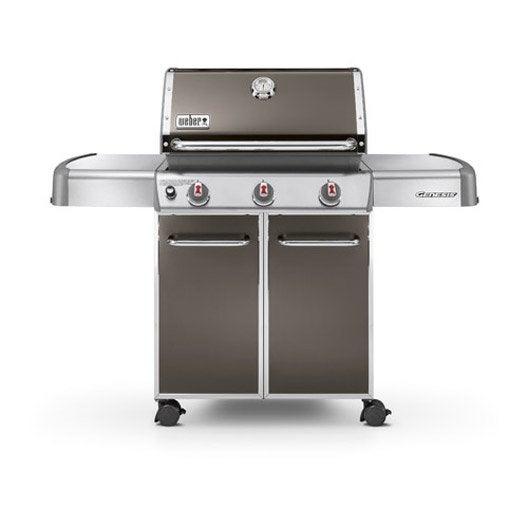 barbecue au gaz weber genesis e310 leroy merlin. Black Bedroom Furniture Sets. Home Design Ideas
