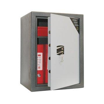 Coffre-fort haute sécurité à clé STARK serrure A2P,H66xl49xP41cm,64L