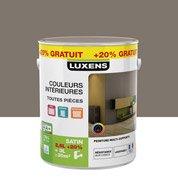 Peinture multisupports Couleurs intérieures Satin LUXENS, brun taupe n°3, 3 L