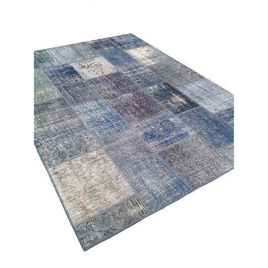 tapis bleu anatolian x cm leroy merlin. Black Bedroom Furniture Sets. Home Design Ideas