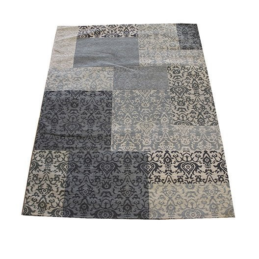tapis antika bleu 230x155 cm leroy merlin. Black Bedroom Furniture Sets. Home Design Ideas