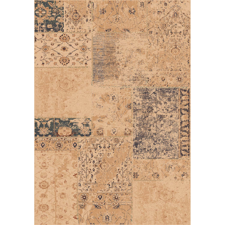 Tapis beige rectangulaire, l.160 x L.230 cm viscose Ispahan