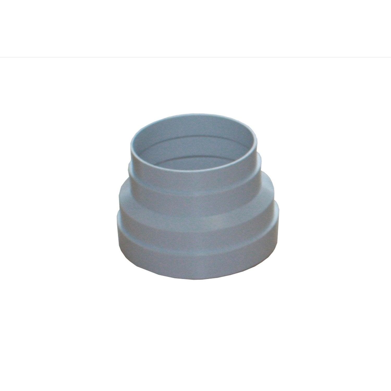 125/mm /à 100/mm en m/étal R/éducteur pour /équipement de ventilation