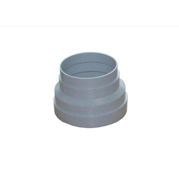 Réduction conique pvc EQUATION, Diam.125/125 mm Rc125/100