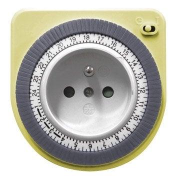 Programmateur mécanique jaune OTIO 710007