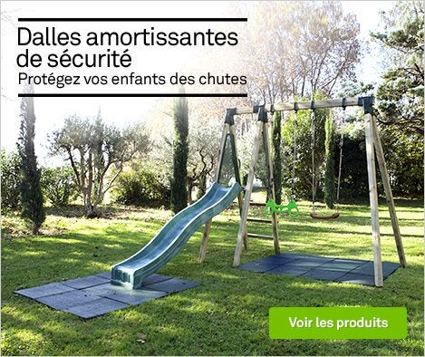 portique maisonnette trampoline et toboggan jardin. Black Bedroom Furniture Sets. Home Design Ideas