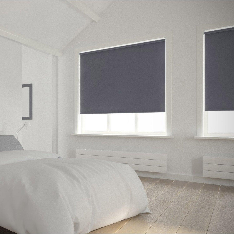 Perfect Store Enrouleur Occultant 5756 INSPIRE, Gris Galet N°1, 45x160 Cm