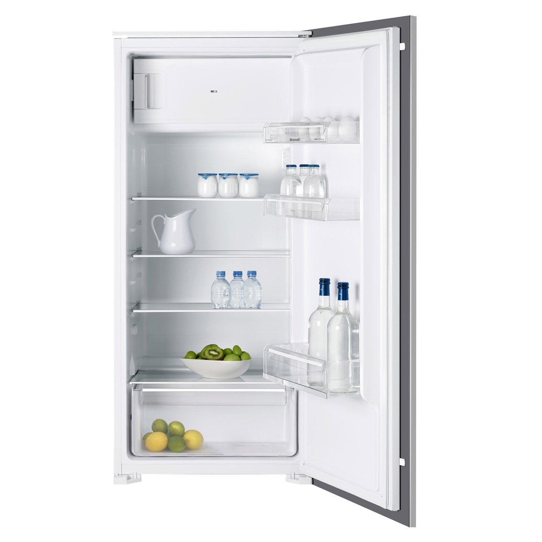 Réfrigérateur Intégrable BRANDT BISES Blanc Leroy Merlin - Refrigerateur integrable 1 porte