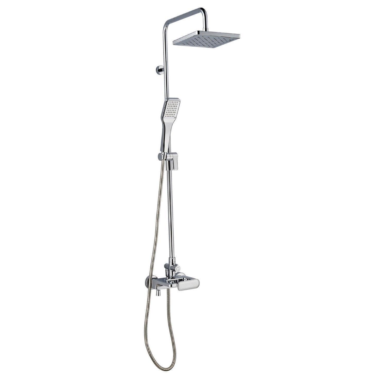 colonne de douche et bain avec robinetterie sensea remix Résultat Supérieur 14 Beau Robinet Douche Bain Photos 2018 Xzw1