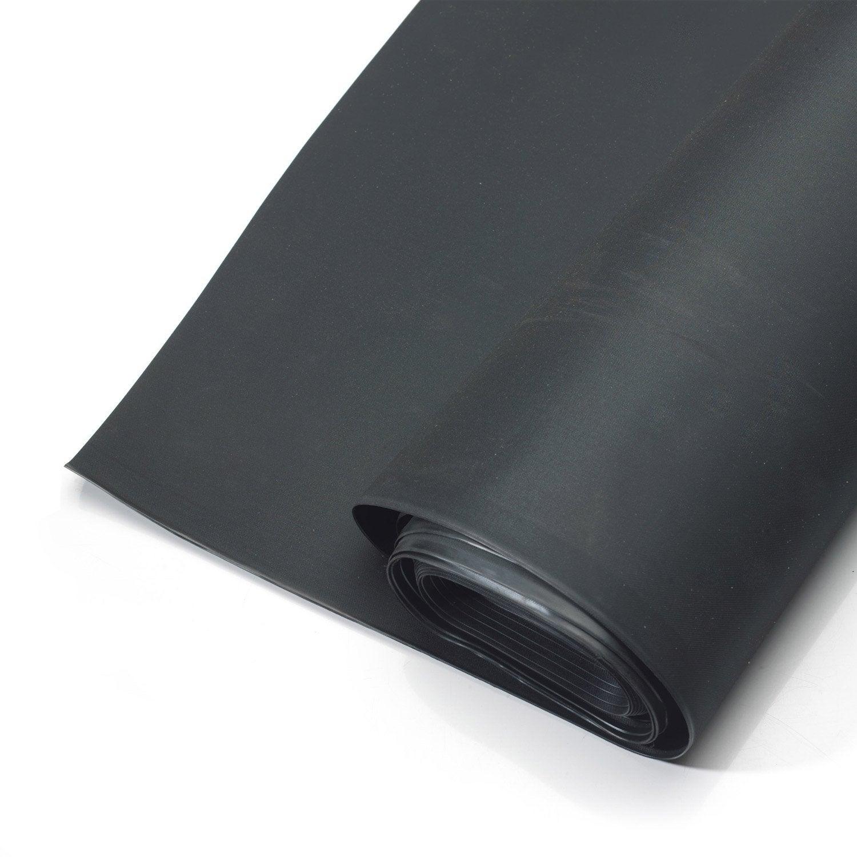 Membrane Détanchéité Pour Toit Plat Easygum Epdm Jardin Noir L502xl05 M Iko