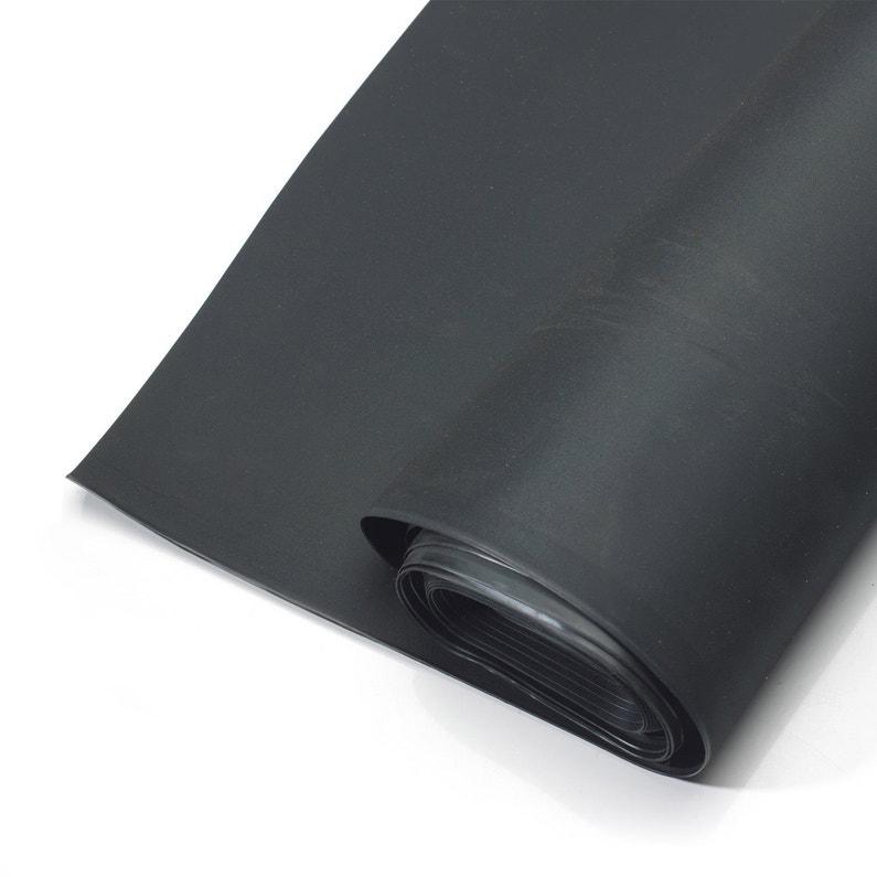 Membrane D étanchéité Pour Toit Plat Easygum Epdm Jardin Noir L 8 34xl 0 5 M Iko