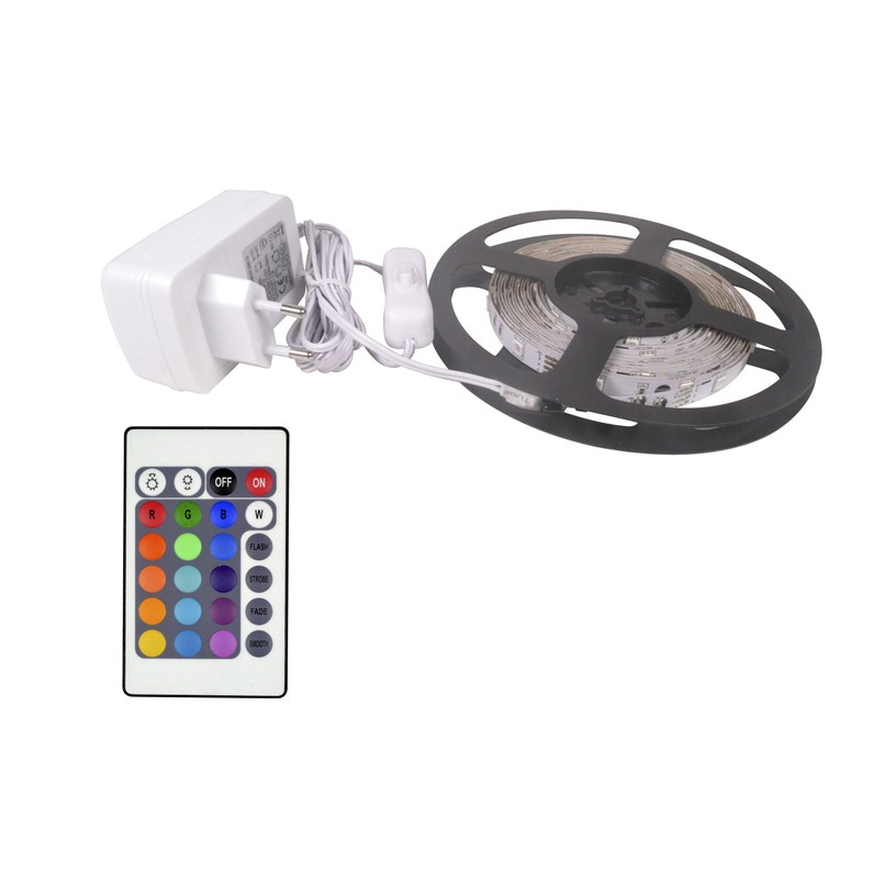 Kit Ruban Led 5m Multicolore