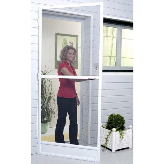Moustiquaire pour porte fen tre enroulement vertical for Rideau pour porte patio cuisine