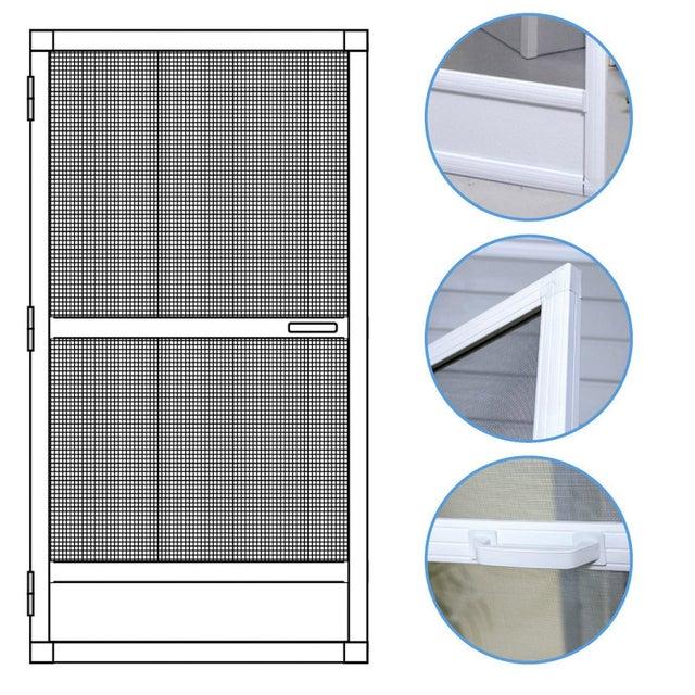 Moustiquaire Pour Porte Fenetre A Enroulement Vertical Moustikit H 240 X L 100cm Leroy Merlin