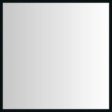 Miroir Lario INSPIRE, noir, l.30 x H.30 cm