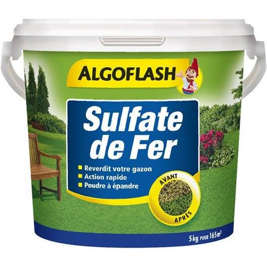 sulfate de fer s lectif algoflash 5 kg leroy merlin. Black Bedroom Furniture Sets. Home Design Ideas