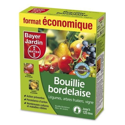 Bouillie bordelaise polyvalent natria bayer 750 g for Bayer jardin decis j insectes polyvalent