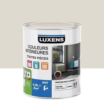 Peinture murale couleur peinture acrylique au meilleur prix leroy merlin - Blanc comme l ivoire ...