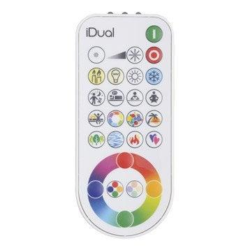 Télécommande JEDI, plastique, blanc