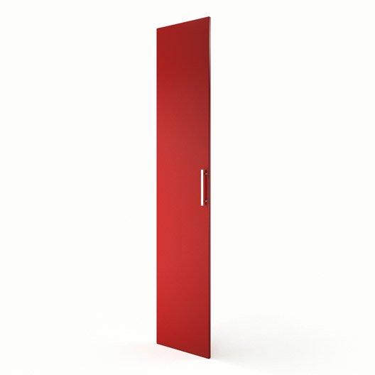 Porte colonne de cuisine rouge d lice x cm for Colonne cuisine 40 cm