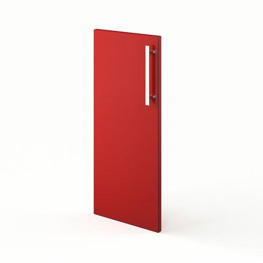 Idee Deco Chambre Bebe Hello Kitty : Porte de cuisine rouge F30 Délice, L30 X H70 cm