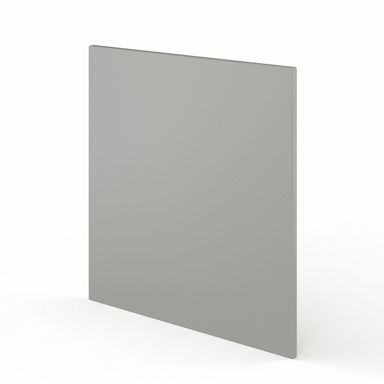 joue meuble bas de cuisine gris dlice l65 x h70 cm