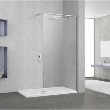 Paroi de douche à l\'italienne au meilleur prix   Leroy Merlin