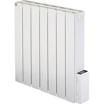 Radiateur électrique à inertie pierre DELTACALOR Cubo digit 1500 W