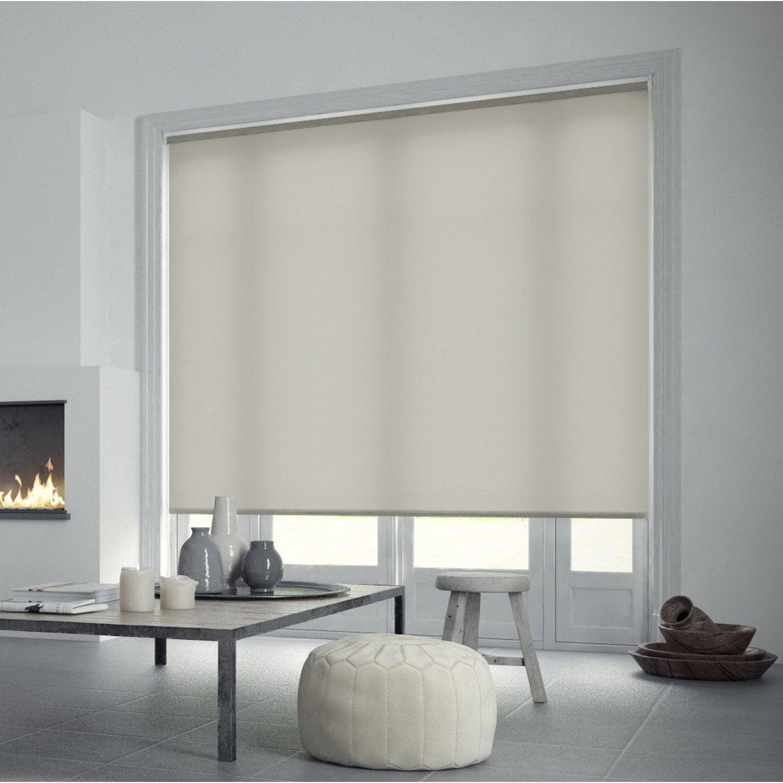 Store enrouleur tamisant INSPIRE, blanc blanc n°5, 55x160 cm | Leroy ...