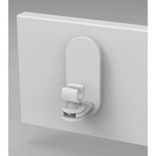 tringle rideau et support sans percer au meilleur prix leroy merlin. Black Bedroom Furniture Sets. Home Design Ideas