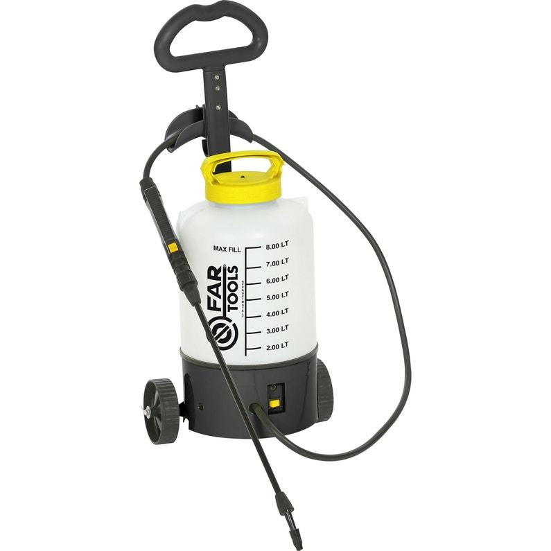 Pulvérisateur Sur Roues à Batterie Fartools Pb 8 6v 4ah 8 Litres