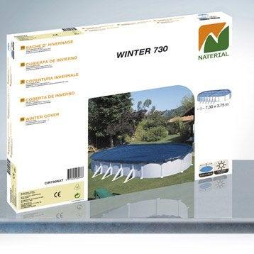 Bâche hiver NATERIAL, L. 820 x l. 460 cm