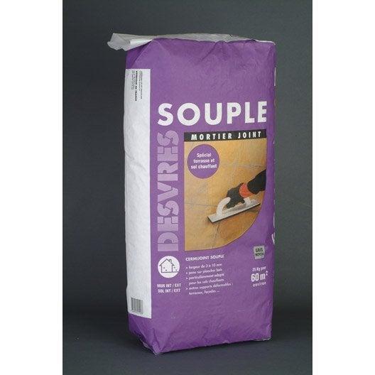 joint poudre tout type de carrelage et mosa que desvres gris moyen 25 kg leroy merlin. Black Bedroom Furniture Sets. Home Design Ideas