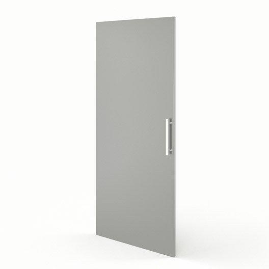 Porte 1 2 colonne de cuisine gris f60 140 d lice l60 x for Porte de cuisine hauteur 60 cm