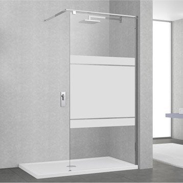 Paroi de douche l 39 italienne douche leroy merlin - Paroi de douche 100 cm ...