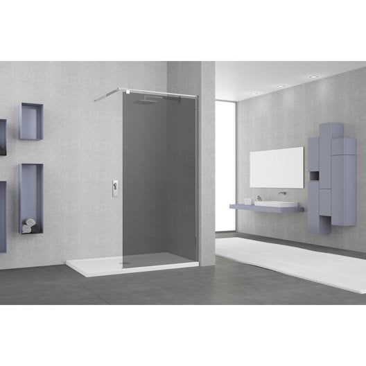 paroi de douche l 39 italienne au meilleur prix leroy merlin. Black Bedroom Furniture Sets. Home Design Ideas